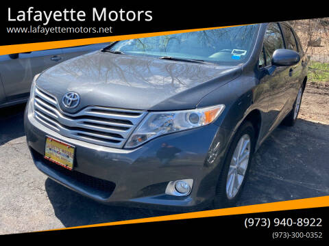 2010 Toyota Venza for sale at Lafayette Motors in Lafayette NJ