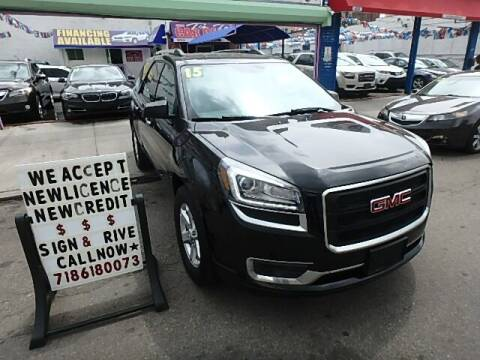 2015 GMC Acadia for sale at Cedano Auto Mall Inc in Bronx NY