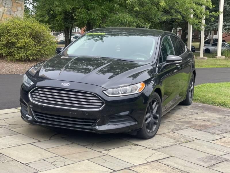 2015 Ford Fusion for sale at Glacier Auto Sales in Wilmington DE