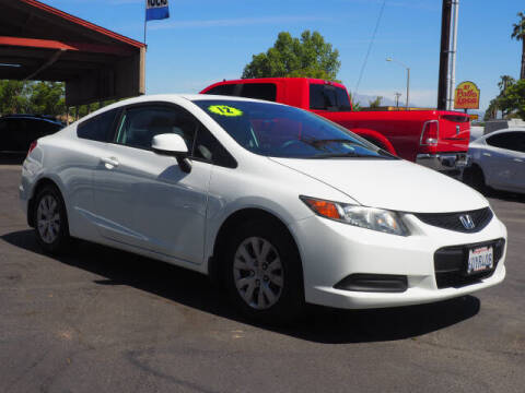 2012 Honda Civic for sale at Corona Auto Wholesale in Corona CA