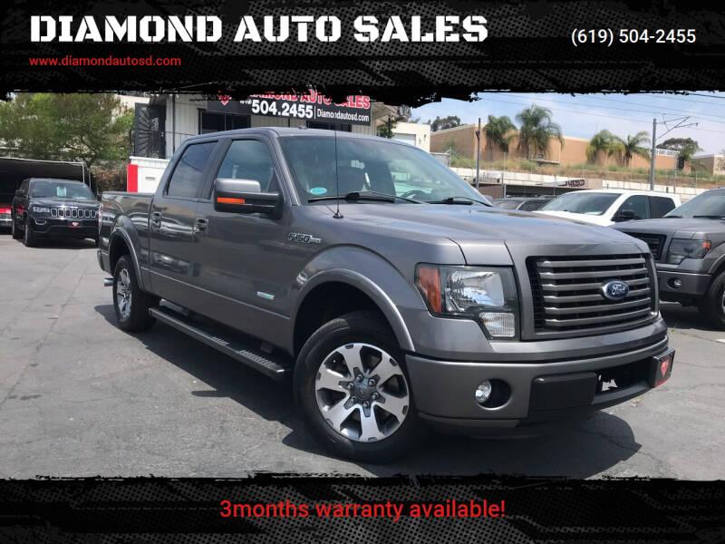 2012 Ford F-150 for sale at DIAMOND AUTO SALES in El Cajon CA