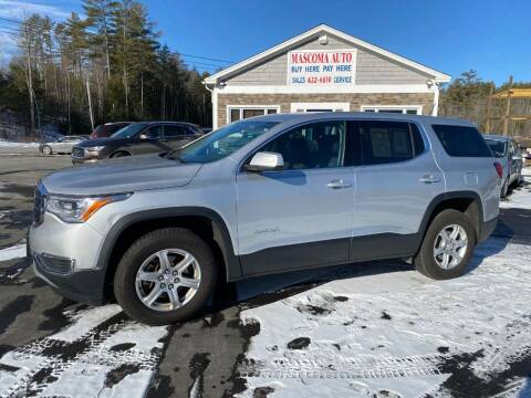 2017 GMC Acadia for sale at Mascoma Auto INC in Canaan NH