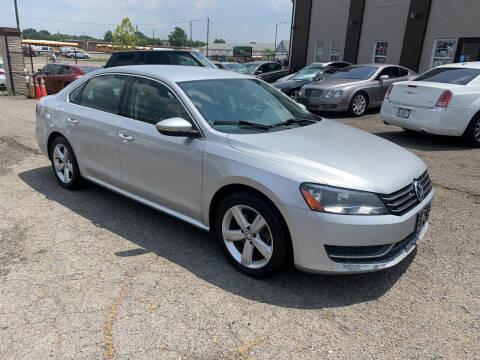 2012 Volkswagen Passat for sale at A & R Motors in Richmond VA