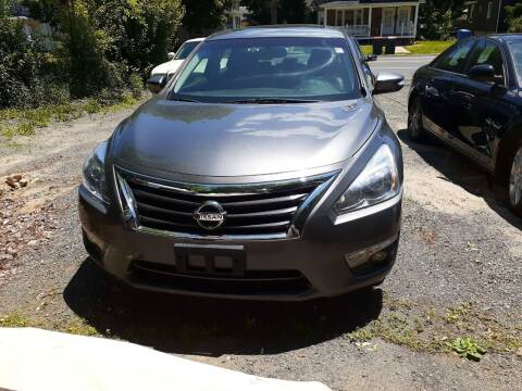 2014 Nissan Altima for sale at Broad Street Auto in Meriden CT