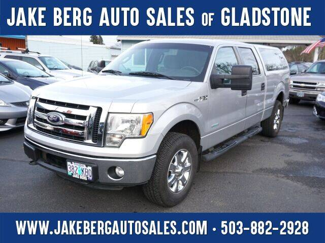 2012 Ford F-150 for sale at Jake Berg Auto Sales in Gladstone OR
