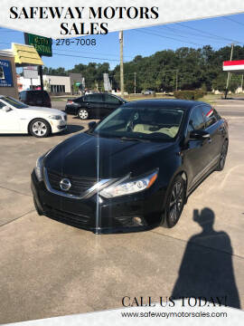 2016 Nissan Altima for sale at Safeway Motors Sales in Laurinburg NC