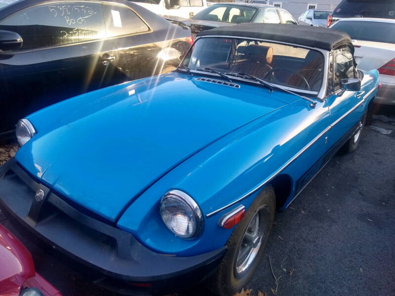 1975 MG B for sale at Washington Street Auto Sales in Canton MA
