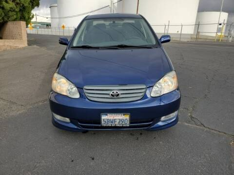 2003 Toyota Corolla for sale at Regal Autos Inc in West Sacramento CA