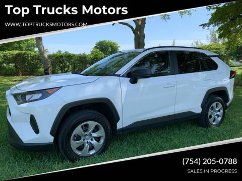 2020 Toyota RAV4 for sale at Top Trucks Motors in Pompano Beach FL