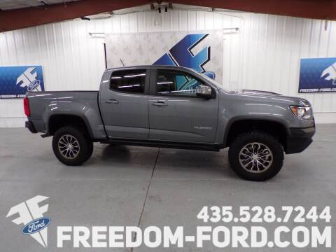 2019 Chevrolet Colorado for sale at Freedom Ford Inc in Gunnison UT