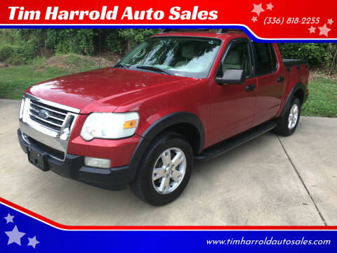 2007 Ford Explorer Sport Trac for sale at Tim Harrold Auto Sales in Wilkesboro NC