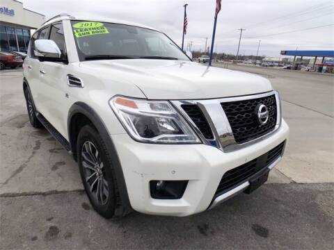 2017 Nissan Armada for sale at Show Me Auto Mall in Harrisonville MO