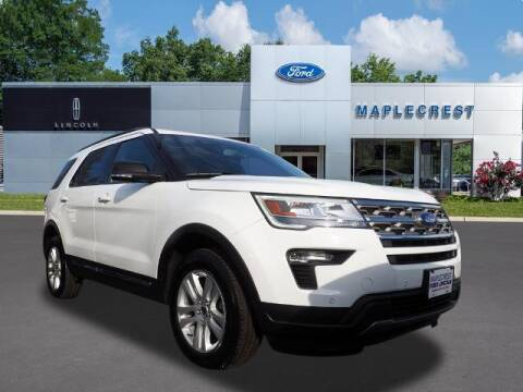 2018 Ford Explorer for sale at MAPLECREST FORD LINCOLN USED CARS in Vauxhall NJ