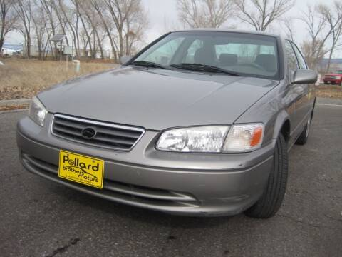 2000 Toyota Camry for sale at Pollard Brothers Motors in Montrose CO