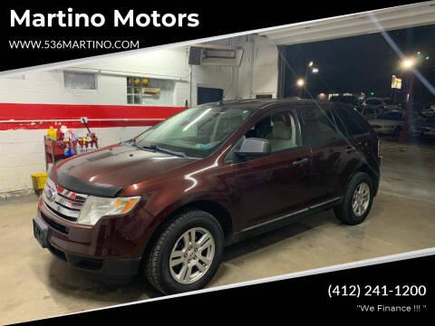 2009 Ford Edge for sale at Martino Motors in Pittsburgh PA