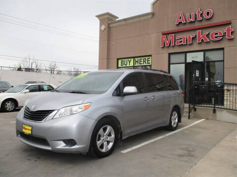 2013 Toyota Sienna for sale at Auto Market in Oklahoma City OK