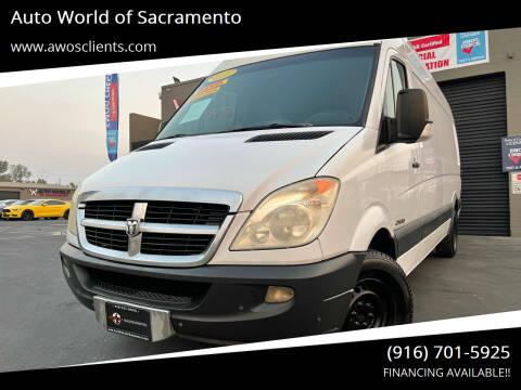 2008 Dodge Sprinter Cargo for sale at Auto World of Sacramento Stockton Blvd in Sacramento CA
