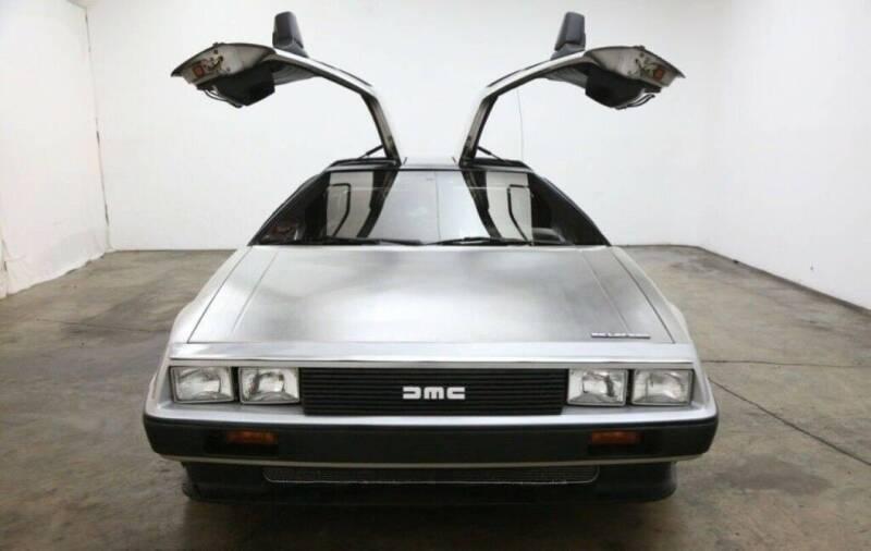 1981 DeLorean DMC-12 for sale at NJ Enterprises in Indianapolis IN