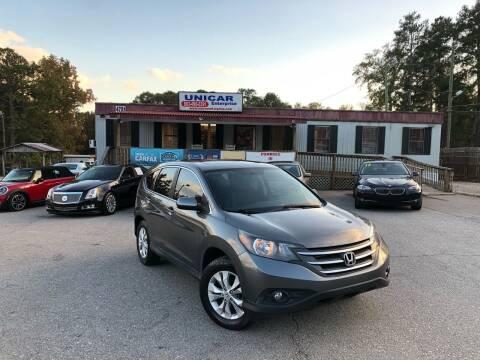 2012 Honda CR-V for sale at Unicar Enterprise in Lexington SC