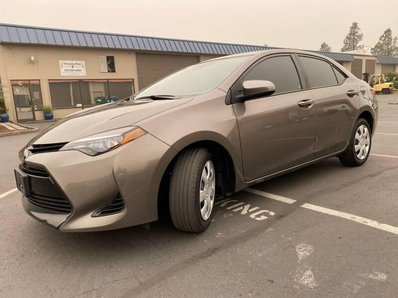 2017 Toyota Corolla for sale at Exelon Auto Sales in Auburn WA