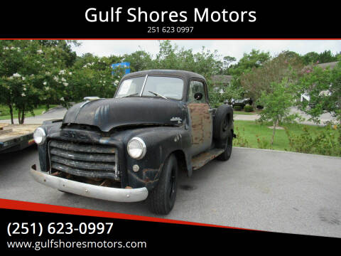 1949 GMC C/K 1500 Series for sale at Gulf Shores Motors in Gulf Shores AL