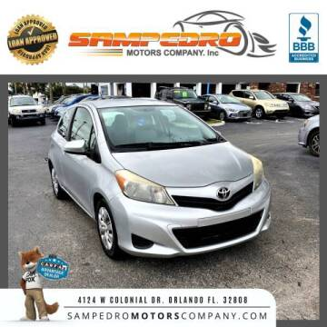 2012 Toyota Yaris for sale at SAMPEDRO MOTORS COMPANY INC in Orlando FL