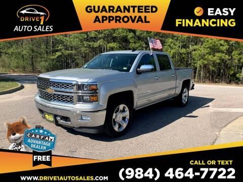 2015 Chevrolet Silverado 1500 for sale at Drive 1 Auto Sales in Wake Forest NC