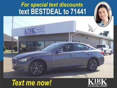 2017 Infiniti Q50 for sale at Kirk Brothers of Cleveland in Cleveland MS