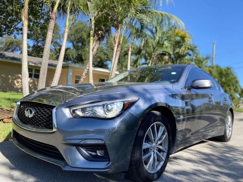 2018 Infiniti Q50 for sale at CAR UZD in Miami FL