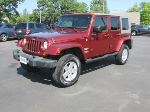 2007 Jeep Wrangler Unlimited for sale at Fedder Motors in Mora MN