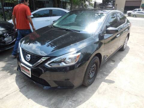 2016 Nissan Sentra for sale at SCOTT HARRISON MOTOR CO in Houston TX