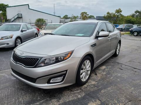 2015 Kia Optima for sale at CAR-RIGHT AUTO SALES INC in Naples FL