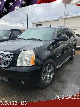 2009 GMC Yukon XL for sale at MJ'S Sales in Foristell MO