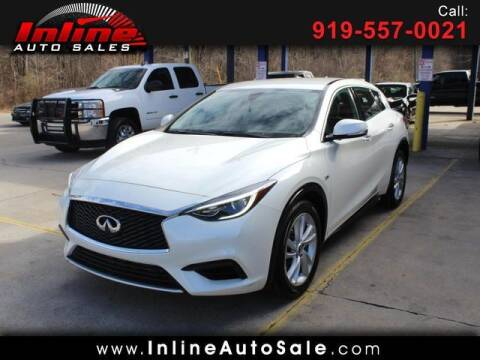 2017 Infiniti QX30 for sale at Inline Auto Sales in Fuquay Varina NC