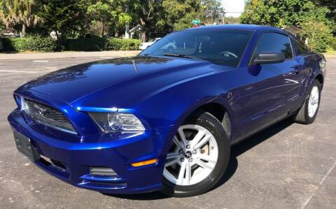 2013 Ford Mustang for sale at LUXURY AUTO MALL in Tampa FL
