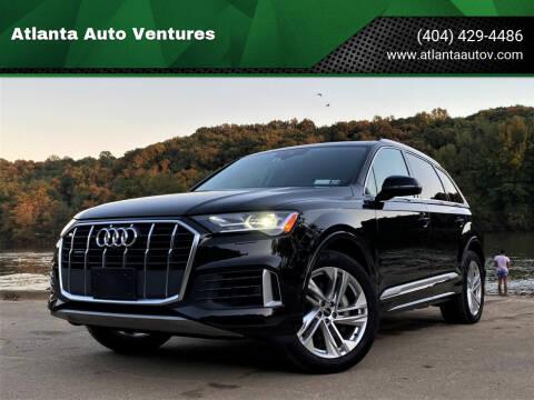 2021 Audi Q7 for sale at Atlanta Auto Ventures in Roswell GA