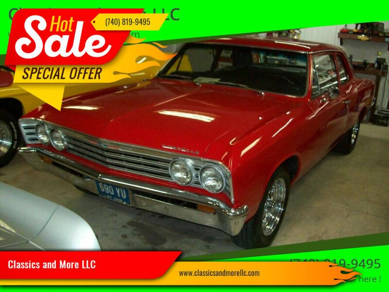 1967 Chevrolet Chevelle Malibu for sale at Classics and More LLC in Roseville OH
