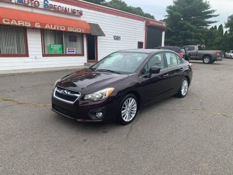 2012 Subaru Impreza for sale at American Auto Specialist Inc in Berlin CT