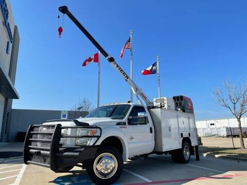 2014 Ford F-550 Super Duty for sale at TWIN CITY MOTORS in Houston TX