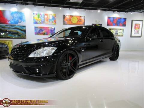 2008 Mercedes-Benz S-Class for sale at The New Auto Toy Store in Fort Lauderdale FL