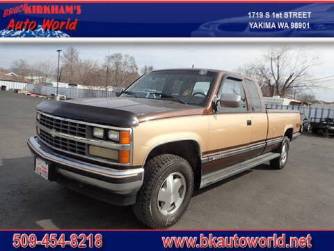 1988 Chevrolet C/K 2500 Series for sale at Bruce Kirkham Auto World in Yakima WA