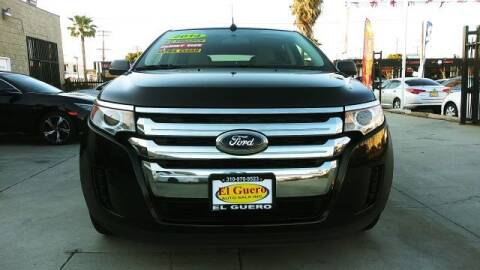 2014 Ford Edge for sale at El Guero Auto Sale in Hawthorne CA