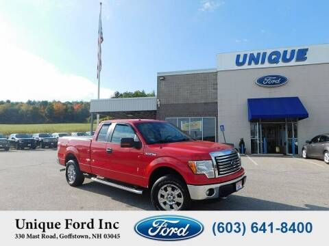 2012 Ford F-150 for sale at Unique Motors of Chicopee - Unique Ford in Goffstown NH