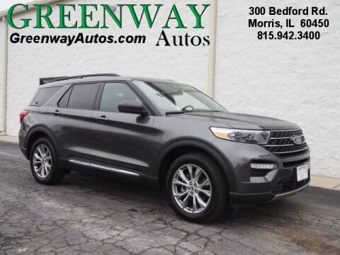 2020 Ford Explorer for sale at Greenway Automotive GMC in Morris IL