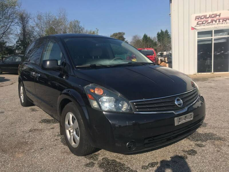 2007 Nissan Quest for sale at UpCountry Motors in Taylors SC