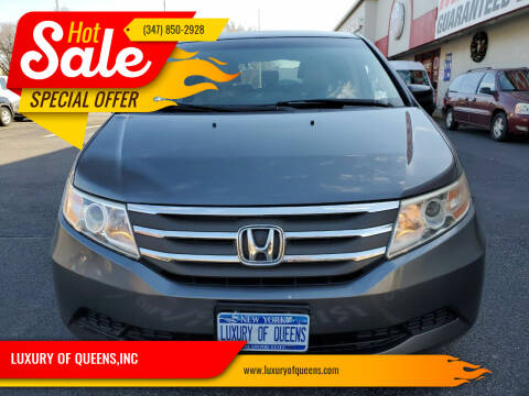 2012 Honda Odyssey for sale at LUXURY OF QUEENS,INC in Long Island City NY
