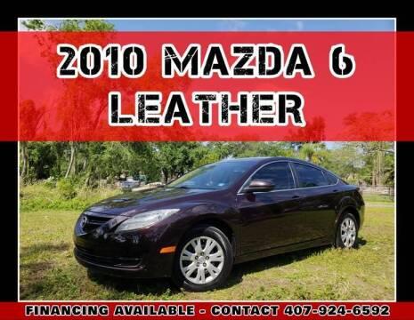 2010 Mazda MAZDA6 for sale at AFFORDABLE ONE LLC in Orlando FL