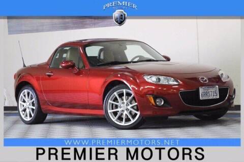 2011 Mazda MX-5 Miata for sale at Premier Motors in Hayward CA