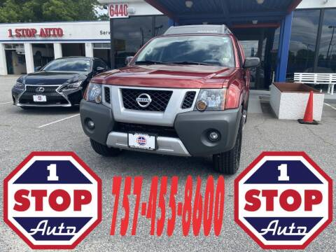 2015 Nissan Xterra for sale at 1 Stop Auto in Norfolk VA