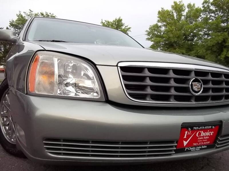 2005 Cadillac DeVille for sale at 1st Choice Auto Sales in Fairfax VA